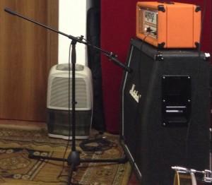 microfonatura chitarra